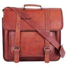 Men Vintage Handmade Glorious Leather Satchel Messenger Business Laptop case Bag