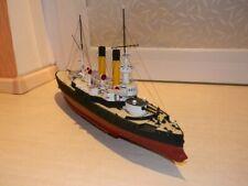 High quality Russian Tsar apraksin armored cruiser battleship 3D Paper Model Kit