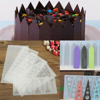 Silicone Chocolate Cake Mold DIY Decor Candy Cookies Baking Mould Ice Cube Mold