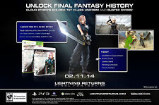 Lightning Returns Final Fantasy XIII *Pre-Order Edition* (XBOX 360, Square Enix)