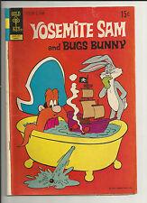 YOSEMITE SAM AND BUGS BUNNY #7 VG  VERY GOOD GOLD KEY 1972
