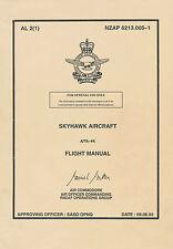 DOUGLAS A-4K & TA-4K SKYHAWK - ROYAL NEW ZEALAND AIRFORCE - NZAP 6213.005-1 FM