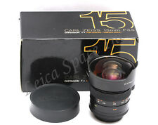 *Mint-* Contax Carl Zeiss 15mm f/3.5 Distagon T* Lens For C/Y Boxed 15/3.5