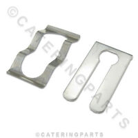 UNIVERSAL REPLACEMENT SPRING CLIP FOR OVERHEAD CERAMIC CURVED GANTRY LAMPS