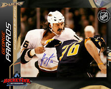 George Parros SIGNED Ducks 8X10 Photo -70199
