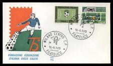 FIGC Fondazione Federazione Italiana Gioco Calcio 1973 Busta commemorativa