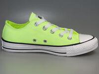 Converse Chucks 136585C Neon Yellow OX + All Star + Neu + versch. Größen