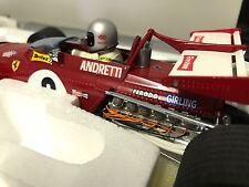 1:18 Exoto Mario Andretti 1971 South African GP Ferrari 312B #6 (First Win)