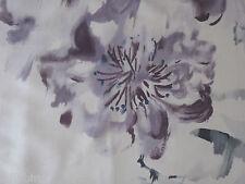 """Designers guild curtain fabric """"oriental fleurs"""" 3.6 mètres chardon 100% soie"""