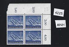 MNH Stamp Block Hero's day 1944 / Third Reich Military Wehrmacht Rocket forces
