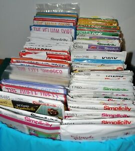 sewing patterns lots to choose ladies girls men boys bags pets home all makes