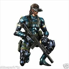 SQUARE ENIX Play Arts Kai Metal Gear Solid V Ground Zeroes Snake Metallic Ver.