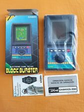 Casio blockburster LCD Game cg-200 nos like New Ultra Rare