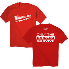 Milwaukee Electric Power Tool M18 - M12 FUEL Tee Shirt T-Shirt, Size LARGE