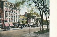 SARATOGA SPRINGS NY – Broadway looking South - udb (pre 1908)