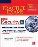 Comptia Security+ Certification Practice Exams Exam Sy0-401  LikeNew