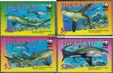 Tokelau 322-325 (complete issue) unmounted mint / never hinged 2002 Fuchshai