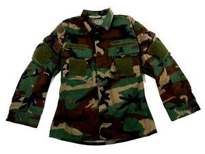 Woodland BDU RAID Modified SOF Uniform Top Medium Regular US Navy SEAL DEVGRU