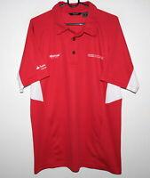 Denmark Dansk Golf Union mens red shirt Size EUR-L US-M