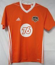 Houston Dynamo Men's Small Medium or Large Adidas Climacool Jersey Orange A1 620