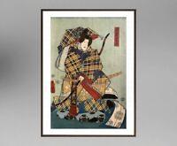 UTAGAWA KUNISADA (1786-1865) ANCIENNE ESTAMPE JAPONAISE  (10)