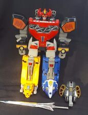 1993 DINO MEGAZORD Deluxe - Mighty Morphin Power Rangers MMPR Complete!