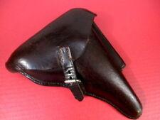 Wwi German Brown Leather Holster for Luger P08 Pistol - Danziger-Leder 1916 Nice