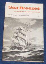 SEA BREEZES FEBRUARY 1973 VOLUME 47 NUMBER 326 - TAIREA OF 1924