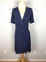 Lilly Pulitzer Blue Wrap Dress, Size S