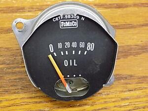 Sept 1966 Ford Bronco Oil Pressure Gauge 1967