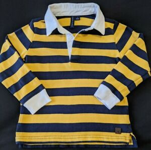 Janie And Jack Boys Rugby Shirt Size 3T