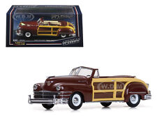1947 CHRYSLER TOWN AND COUNTRY COSTA RICA BROWN 1/43 DIECAST BY VITESSE 36220