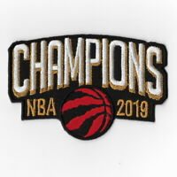 NBA Champions 2019 Toronto Raptors Iron on Patches Embroidered Final Patch D