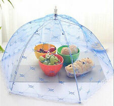 Fold Food Cover Tent Umbrella Collapsible Cake Covers Lace Mesh Net Insect EF