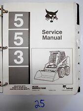 Bobcat 553 Skid Steer Service Manual BCIS 6724024 11/95