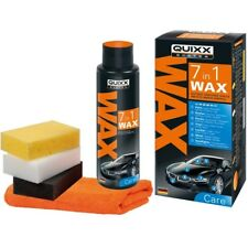 QUIXX 7-in-1 Waxing Kit Paint Plastic Vinyl Leather Metal & More