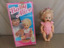 Vintage 1984 Kenner Baby Alive with Box
