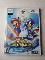 Mario & Sonic at the Olympic Winter Games Vancouver Nintendo Wii - CIB & Tested