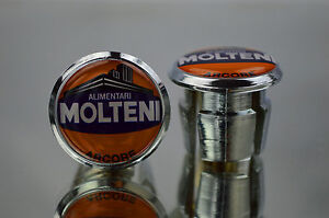 Eddy Merckx Team Molteni Handlebar End Plugs Bar Caps lenkerstopfen bouchons 3D