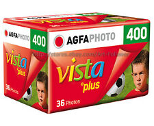 20 Rolls Agfa vista Plus 400iso color 35mm/135 Film 36exp Dx Print Fresh 2019