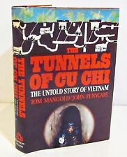 1st/1st THE TUNNELS OF CU CHI - The Untold Story of Viet Nam by TOM MANGOLD HCDJ
