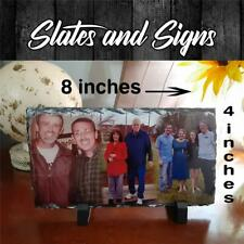 Photo Picture Slate 4x8 Your My Frame perfect wedding memorial in memory gift