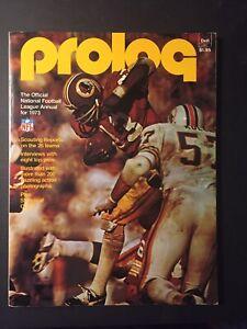 1973 Prolog NFL Annual LARRY BROWN Washington Redskins - RARE
