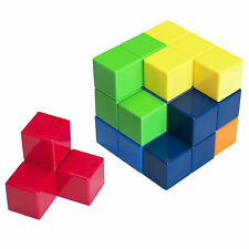 Magnet Soma Cube Puzzle Games for Adults and Kids 3D Brain Teaser Soma Cube