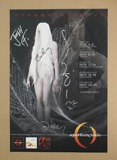 A Perfect Circle (w/ Maynard J. Keenan) 2010 Concert Poster *Signed By The Band*