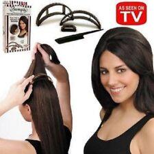 2X Bumpits 5 pc BRUNETTE Hair Volumizing Plastic Inserts - Big Happie Hair