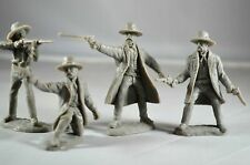 "TSSD21 ""The Gunfighters (Tombstone Series 1)"" 54mm Western Plastic Toy Soldiers"