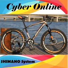 Brand New Cyber 2017 E100 Black&Orange 26 inch 21 Gears Shimano  Mountain bike
