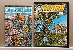 TMN TURTLES# 5; 1st printing, & FUGITOID # 1 both extremely high grade.