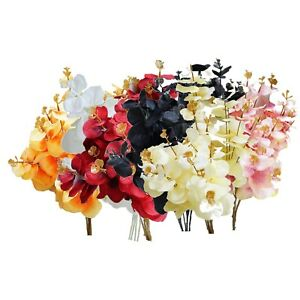 Real Touch Single Stem Eucalyptus Artificial Flower for Home, Wedding Decoration